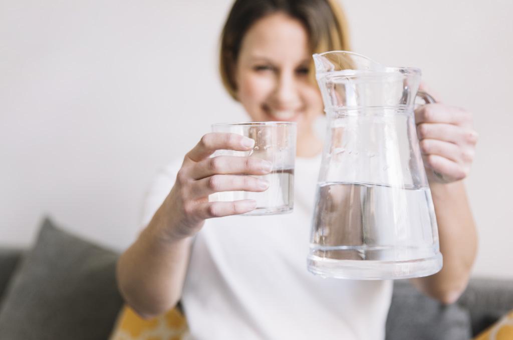 Boire beaucoup d'eau